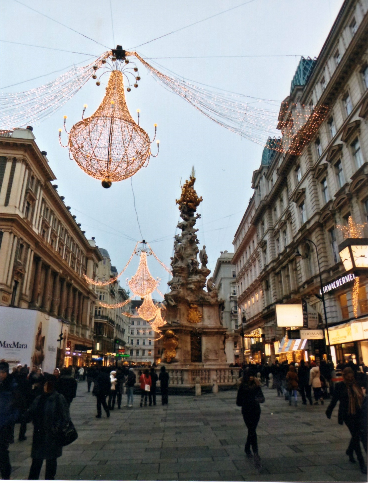 Christmas Time In Vienna